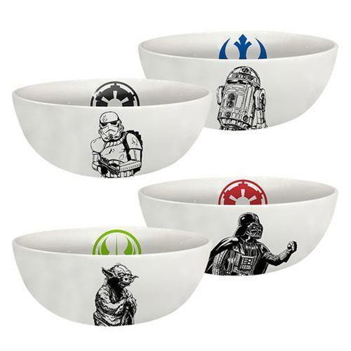 Star Wars 6-Inch Ceramic Bowl 4-Pack