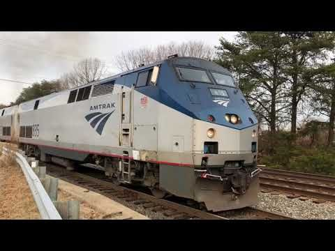 Waiting on the Auto Train to get started 1-17-18 - YouTube