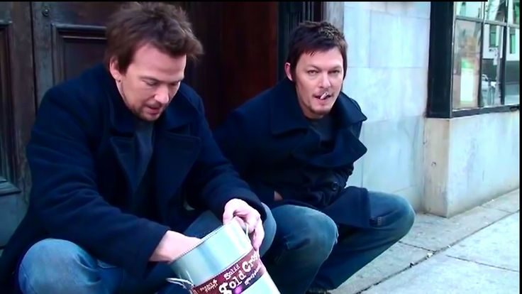 the boondock saints sean patric flanery norman reedus