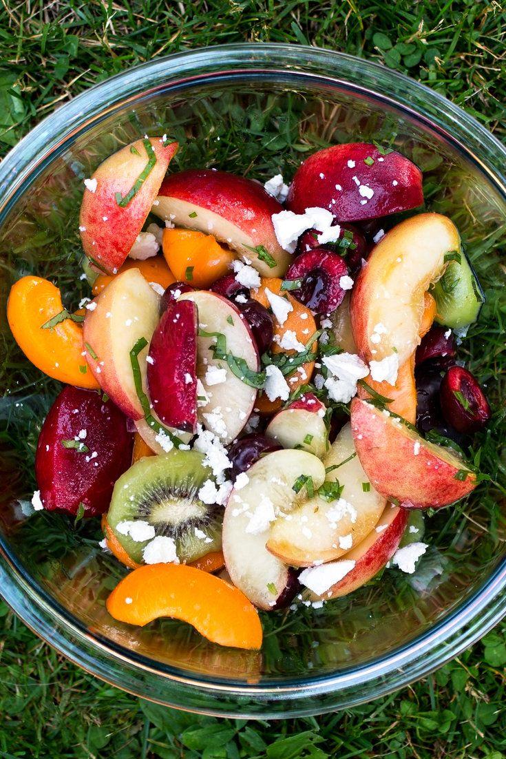 healthy breakfast fruit salad aggregate fruit
