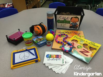 Calm Down Kits for the Elementary Classroom