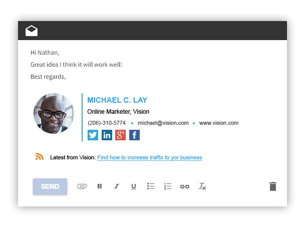 25 best ideas about best email signatures on pinterest