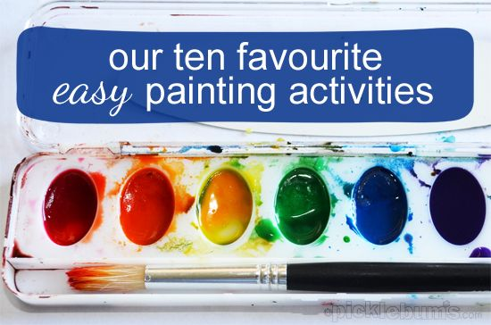 Our Ten Favourite Easy Art Activities