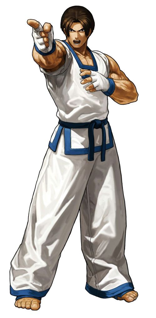 Kim Kaphwan - Pictures & Characters Art - King of Fighters XIII