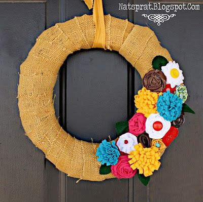 wreath for spring/summer