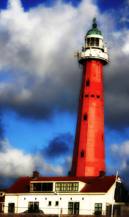 """old lighthouse scheveningen holland"" l Den Haag l The Hague l Dutch l The Netherlands"