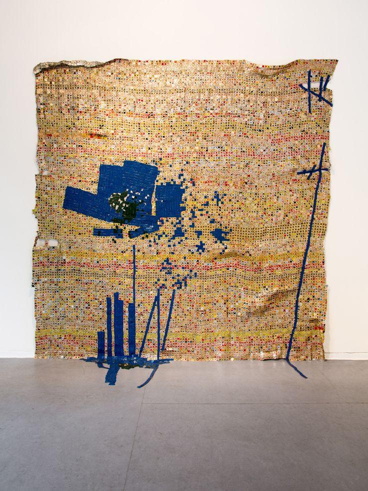 EL ANATSUI @ October Gallery opens Feb 2016