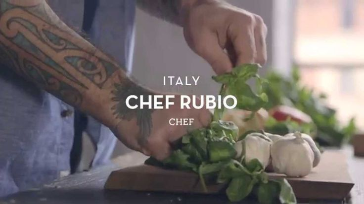 #2Days1bag: meet Chef Rubio