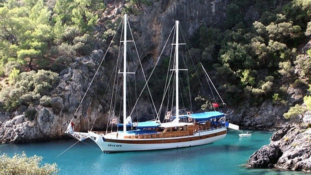 Sailing the Turkish Coast - Gulet highly recommend this cant wait to do again.