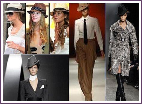 Cappelli da uomo nella moda femminile
