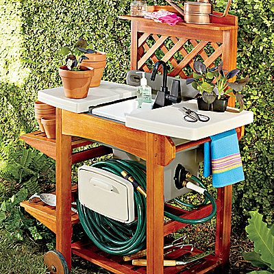 1000 ideas about Outdoor Garden Sink on Pinterest