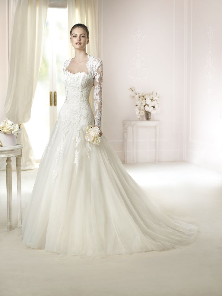 58 best wedding dresses I like images on Pinterest | Wedding frocks ...