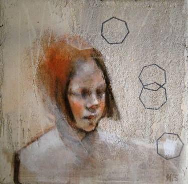 "Saatchi Art Artist Silja Selonen; Painting, ""c r e a ( available after 11/2015)"" #art"