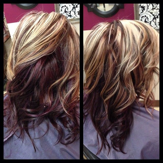 Hair Color Ideas Blonde With Dark Brown