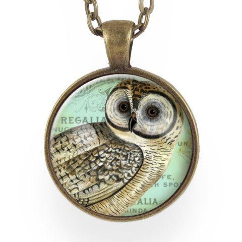 Owl Necklace – CellsDividing