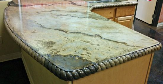 Amazing DIY Concrete Countertops  - Yes, YOU Can Make This Too!