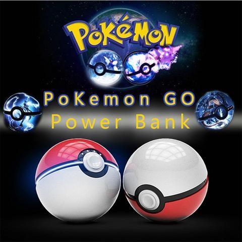 Poke Ball Power Bank Charger 10000mah - FREE SHIPPING !!!