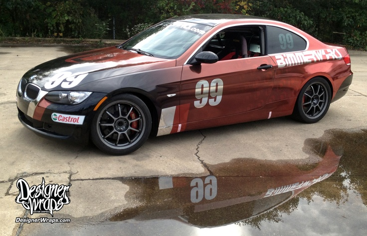 Best Chrome Wraps Images On Pinterest Wraps Race Cars And - Vinyl decals for race carsbmw race car wraps by graphios