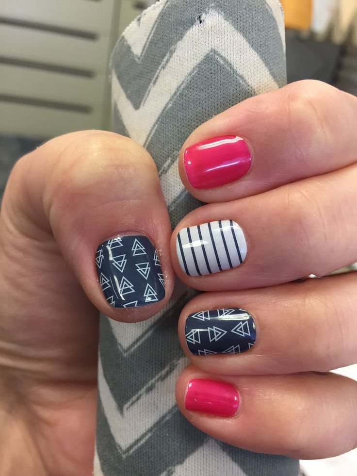 Jamberry Free Spirit and Haute Pink