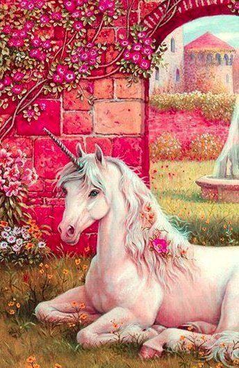 Unicorn via Selene on Facebook