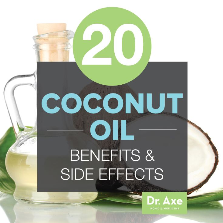 Coconut Oil Health Benefits and Side Effects Title
