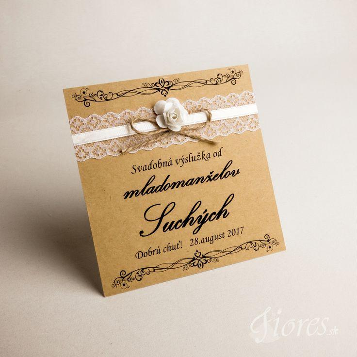 """Svadobné etikety """"Romantic"""" Ponúkame Vám originálne ručne zdobené etikety podľa Vašich prianí."""