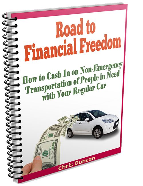 """The Road To Financial Freedom Starts HERE: http://www.transporting1.com/ - How To Start A Private Transportation Business? Attention: Do You Need a Job Now or a Smart Way To Earn a Full Time Income Even on a Part-Time Basis? """"Discover 11 Companies Begging to Hire You to Drive their Clients to Medical Appointments in Your Car"""" ..."""