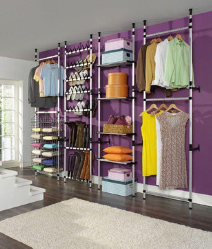 Bedroom Organizing Ideas: Best 25+ No Closet Solutions Ideas On Pinterest