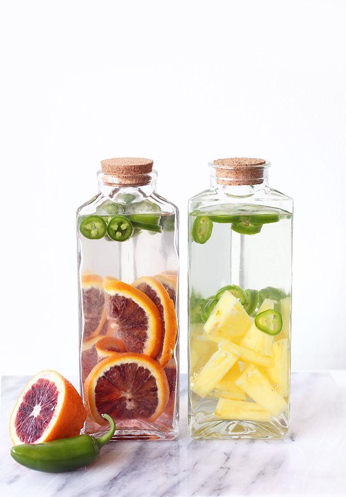 Pineapple & Blood Orange Spicy Jalapeño Tequila