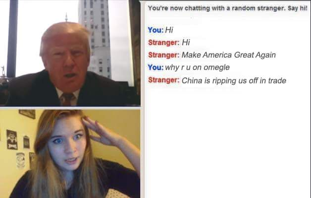 I've seen that girl on omegle before