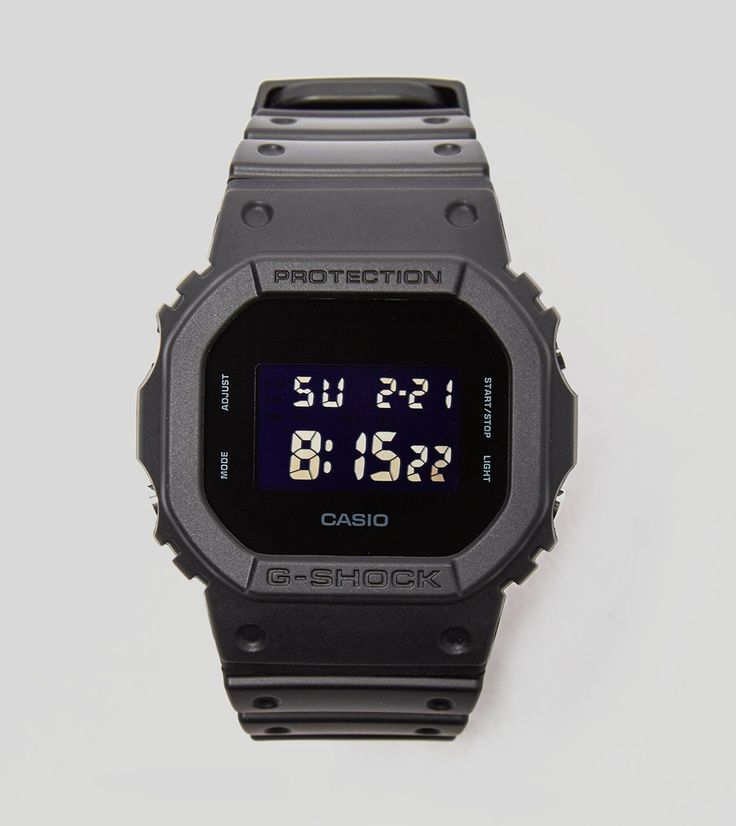 G-Shock DW-5600 Watch - find out more on our site. Find the freshest in trainers and clothing online now.