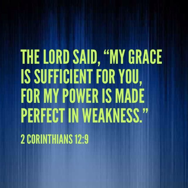 God's strength works best in our weakness!! // #bible #scripture #encouragement #strength