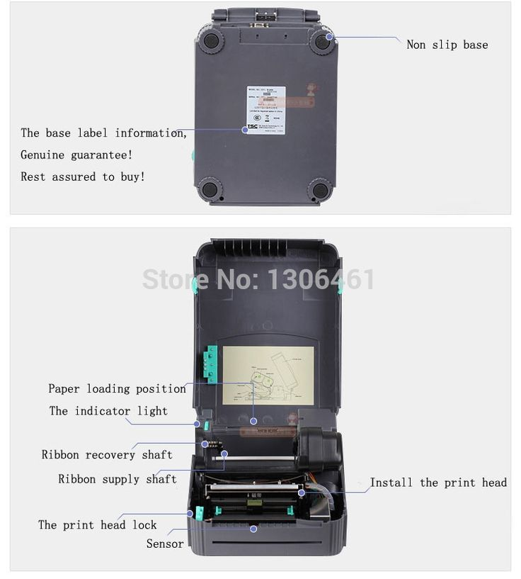 200.46$  Buy here - http://aidm8.worlditems.win/all/product.php?id=2032363825 - 1pcs  New Original TTP244PRP  thermal label printer