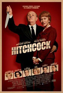 [capsule review] Hitchcock - I really enjoyed this one.  There may be some historical issues and Hopkins may not look exactly like Hitchcock, even with the fake nose, but it was well paced and fun and both Hitchcock and Mirren were delightful.  Also, makes me want to go watch the original Psycho.  (Kendall, 1/1/2013)