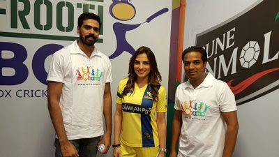 Frooti Box Cricket League - Mansi Sharma