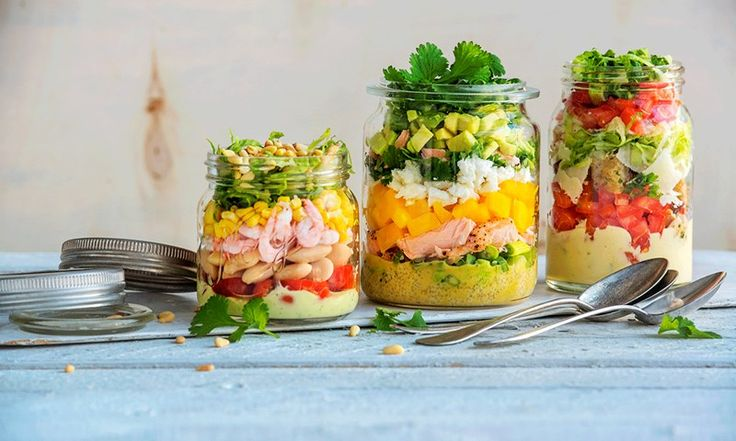 Salat på Norgesglass er genial, sunn piknikmat | EXTRA -