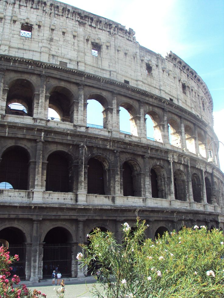 The Colosseum in Rome, Italy. Visited July 2011.
