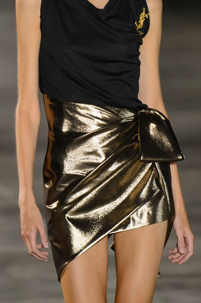 Saint Laurent, Spring 2017 - The Most Magnificent Details from the Spring '17 Paris Runways - Photos