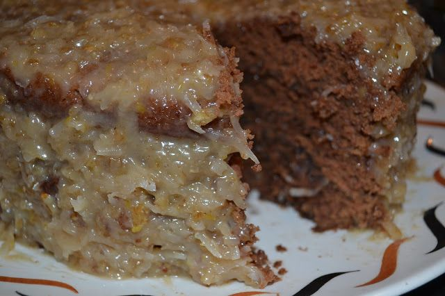 Best homemade German Chocolate Recipe EVER!!