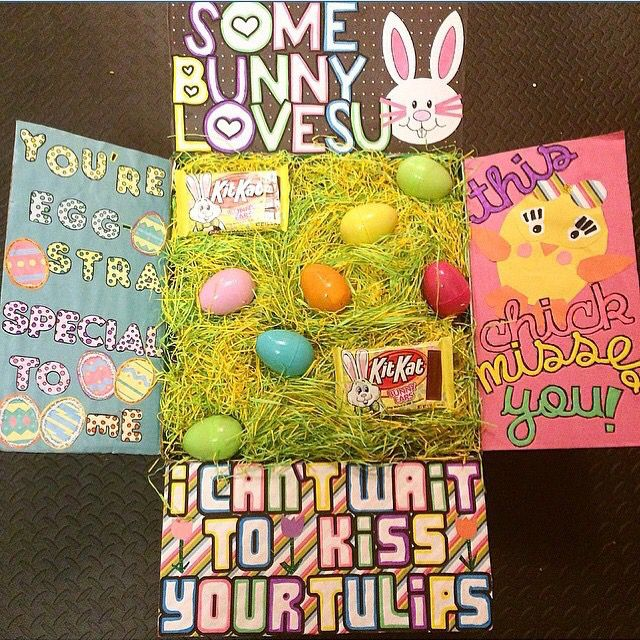 Military Care Package, Easter