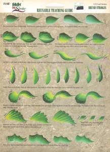 dewberry rtg | Leaf Strokes RTG Worksheet 1132 by Donna Dewberry | eBay