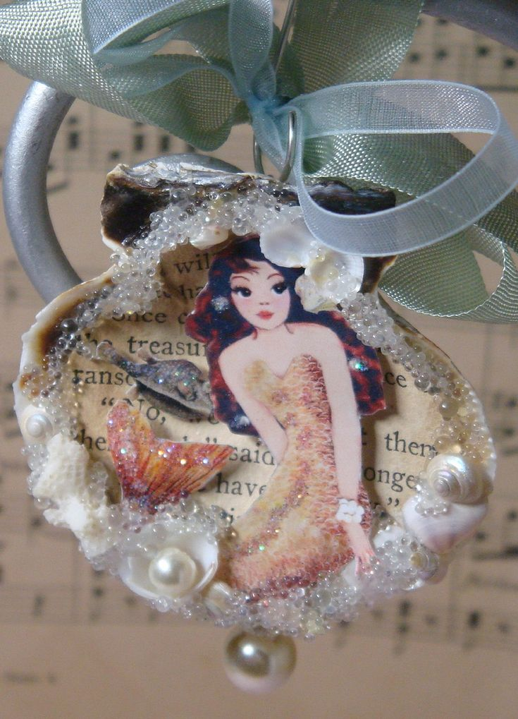 Mermaid Ornament | by Sea Treasure