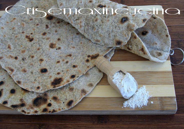 Piadina integrale, ricetta light | Cris e Max in cucina
