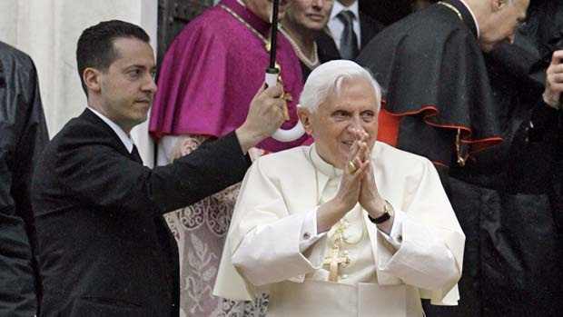 Paolo Gabriele, left, is accused of leaking confidential Vatican documents.