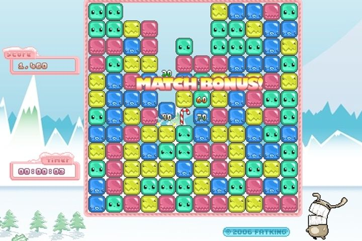 Santa's Cubes Game screenshot