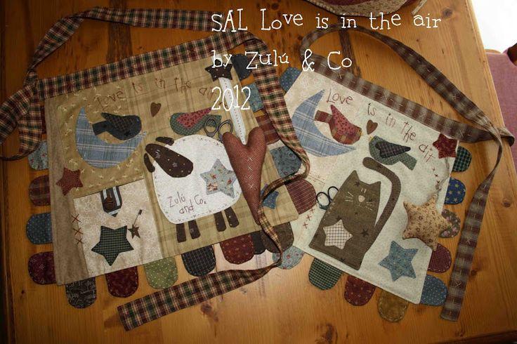 SAL: Love is in the air, by Zulú and Co: Casi un año después... los patrones