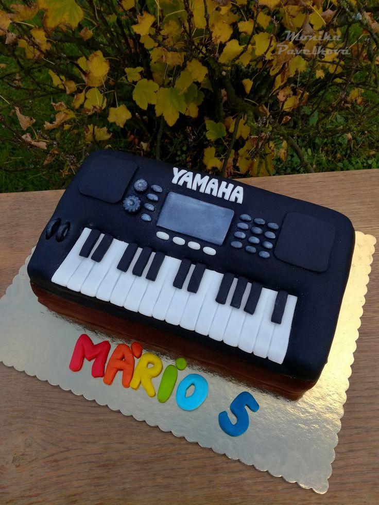 Keyboard Yamaha CAKE. DORT klávesy.