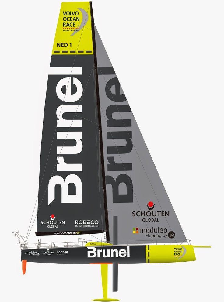 Team Brunel Boat Design for the Volvo Ocean Race 2014-15