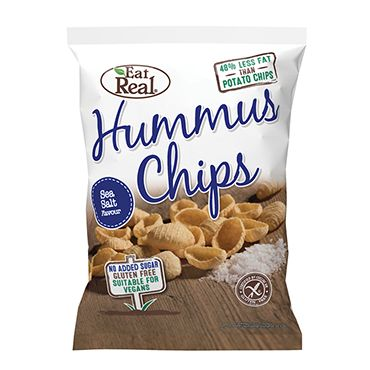 Eat Real Sea Salt Hummus Chips | Recipes to Cook | Hummus ...
