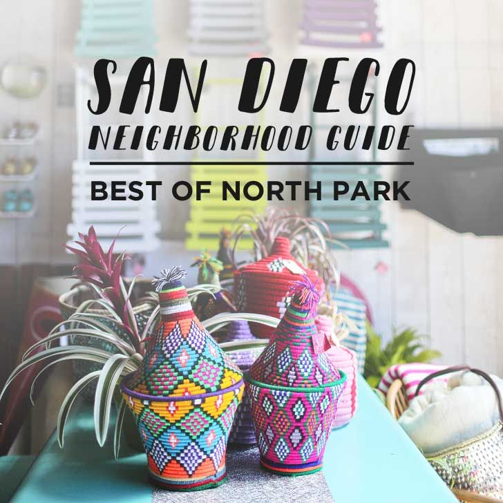 If you're headed to San Diego, you should check out North Park! It's a great neighborhood with good food. Check out the Best of North Park San Diego.